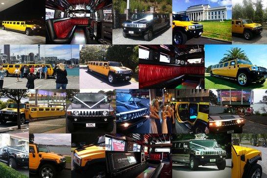 hummerzine limo hire montage